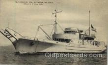 shi003213 - Boxwood Steel Net Tender Military Ship, Ships, Postcard Postcards