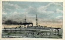shi003215 - Colorado Class Battleship Military Ship, Ships, Postcard Postcards