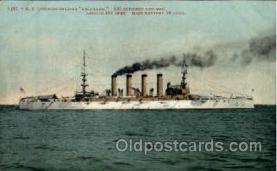 shi003226 - US Armored Cruiser Colorado Military Ship, Ships, Postcard Postcards