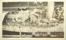 USS Alabama, Panama Canal