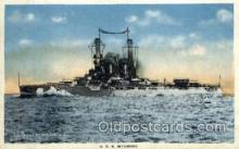shi003258 - USS Wyoming Military Ship, Ships, Postcard Postcards