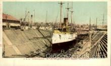 shi003260 - USS Bennington, Mare Island, CA, USA Military Ship, Ships, Postcard Postcards