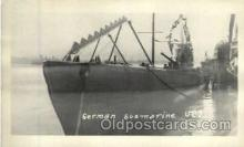 shi003283 - German Submarine UE7 Military Ship, Ships, Postcard Postcards