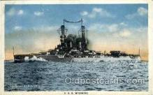shi003310 - USS Wyoming Military Ship, Ships, Postcard Postcards