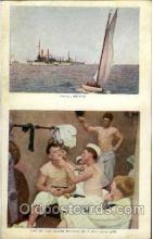 shi003320 - Naval Review Military Ship, Ships, Postcard Postcards