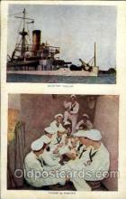 shi003321 - Monitor Purita Military Ship, Ships, Postcard Postcards