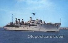 shi003352 - U.S.S. Ajax Military Ship, Ships, Postcard Postcards