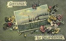 shi003371 - S.S. Connecticut Military Ship Ships Postcard Postcards