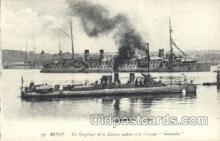 shi003373 - Montcalm Military Ship Ships Postcard Postcards