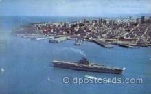 shi003374 - Aircraft Carrier Military Ship Ships Postcard Postcards