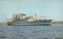 shi003381 - United States Naval Ship Upshur ( T-Ap 198) Military Ship Ships Postcard Postcards