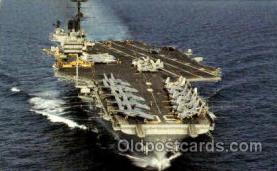 shi003390 - U.S.S. Saratoga (CV-60) Navy, Military Ship, Ships Postcard Postcards