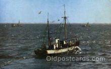 shi003406 - Gulls, Cape Cod, Massachusett, USA Navy, Military Ship, Ships Postcard Postcards