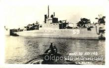 shi003408 - World record Built in 10 days and 22 hours Navy, Military Ship, Ships Postcard Postcards