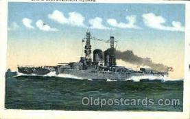shi003411 - U.S.S. Wyoming Navy, Military Ship, Ships Postcard Postcards