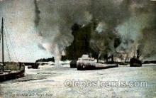 shi003412 - Ice Blockade, St. Mary's River Navy, Military Ship, Ships Postcard Postcards