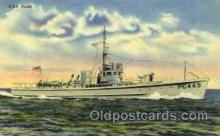 shi003420 - U.S.S. PC449 Navy, Military Ship, Ships Postcard Postcards
