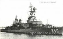 shi003428 - U.S.S. Glennon DD-840 Navy, Military Ship, Ships Postcard Postcards
