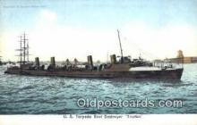 shi003443 - US Torpedo Boat Destroyer Military Battleship Postcard Post Card Old Vintage Anitque