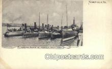 shi003466 - Torpedo Boats, Norfolk Navy Yard Military Battleship Postcard Post Card Old Vintage Anitque