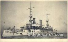 shi003469 - USS Kearsarge Military Battleship Postcard Post Card Old Vintage Anitque