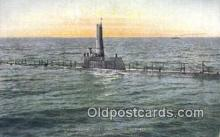 shi003471 - Underseas Boat Military Battleship Postcard Post Card Old Vintage Anitque