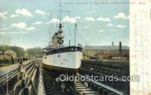 shi003494 - US Cruiser, Maryland Military Battleship Postcard Post Card Old Vintage Anitque