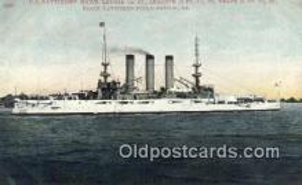 shi003498 - US Battleship, Maine Military Battleship Postcard Post Card Old Vintage Anitque