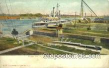 shi003516 - US Navy Yard, Norfolk Military Battleship Postcard Post Card Old Vintage Anitque