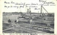 shi003517 - US Navy Yard, Norfolk Military Battleship Postcard Post Card Old Vintage Anitque
