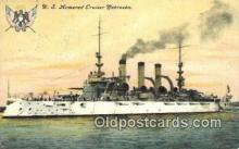 shi003530 - US Armored Cruiser Nebraska Military Battleship Postcard Post Card Old Vintage Anitque