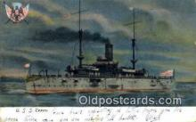 shi003571 - uses Texas Military Battleship Postcard Post Card Old Vintage Anitque