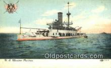shi003588 - US Monitor Puritan Military Battleship Postcard Post Card Old Vintage Anitque