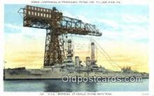 shi003613 - USS Wyoming Military Battleship Postcard Post Card Old Vintage Anitque