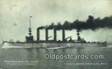 shi003697 - Protected Cruiser, St. Louis Military Battleship Postcard Post Card Old Vintage Anitque