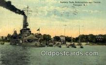 shi003712 - Submarines & Tender, Newport Military Battleship Postcard Post Card Old Vintage Anitque