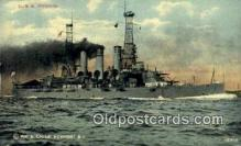 shi003715 - USS Virginia Military Battleship Postcard Post Card Old Vintage Anitque