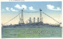 shi003751 - USS Ohio Military Battleship Postcard Post Card Old Vintage Antique