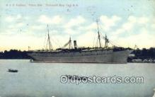 shi003756 - USS Southery, Portsmouth Navy Yard, New Hampshire, NH USA Military Battleship Postcard Post Card Old Vintage Antique