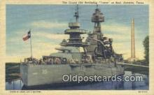 shi003757 - Texas, Veteran Of Two Wars, Houston, Texas, TX USA Military Battleship Postcard Post Card Old Vintage Antique