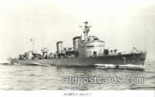 shi003764 - Marina 08134-b Malmo Military Battleship Postcard Post Card Old Vintage Antique