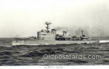 shi003765 - Marina 08133-c Stockholm Military Battleship Postcard Post Card Old Vintage Antique