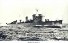 shi003766 - Marina 08135-a Karlskorna Military Battleship Postcard Post Card Old Vintage Antique