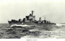 shi003768 - Marina 08152 Halland Military Battleship Postcard Post Card Old Vintage Antique