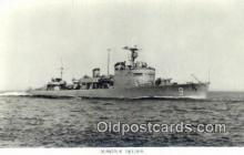 shi003770 - Marina 08136-b Gavle Military Battleship Postcard Post Card Old Vintage Antique