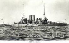 shi003771 - Marina 08095-b Gota Military Battleship Postcard Post Card Old Vintage Antique
