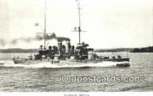 shi003775 - Marina 08101-a Aran Military Battleship Postcard Post Card Old Vintage Antique