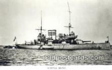 shi003777 - Marina 08096-b Thule Military Battleship Postcard Post Card Old Vintage Antique