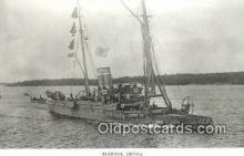 shi003784 - Marina 08078-a Edda Military Battleship Postcard Post Card Old Vintage Antique