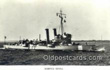 shi003791 - Marina 08109-b Ornen Military Battleship Postcard Post Card Old Vintage Antique